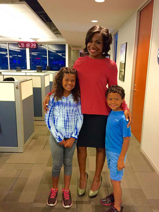 """<div class=""""meta image-caption""""><div class=""""origin-logo origin-image none""""><span>none</span></div><span class=""""caption-text"""">One of our producers brought his cute kids to the station, and Samica gave them the tour (KTRK Photo)</span></div>"""