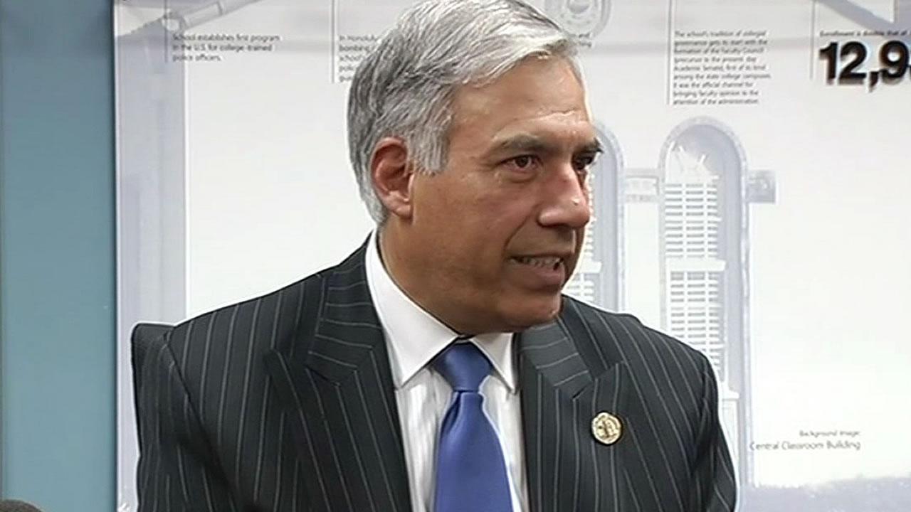 San Jose State University president Mohammad Qayoumi