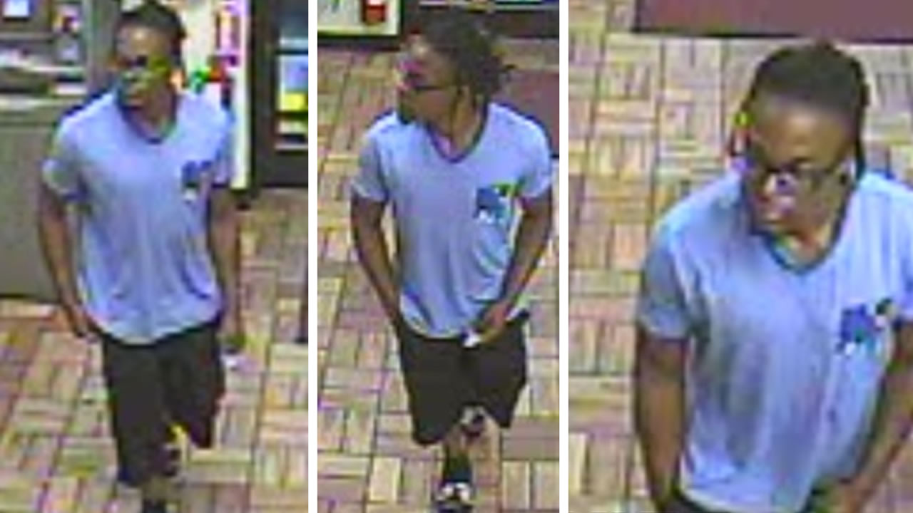 Fayetteville police released these surveillance images they say is the suspect.