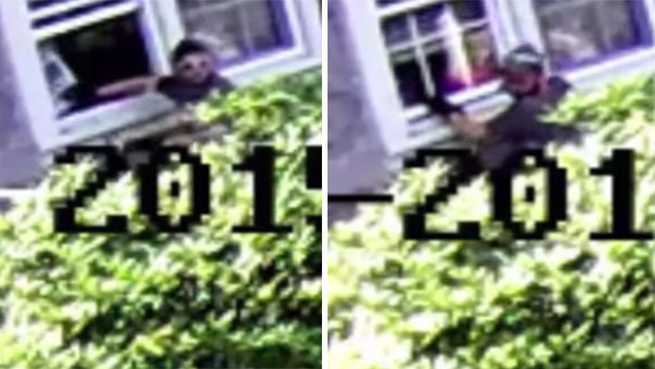 Torresdale burglary suspect caught on camera