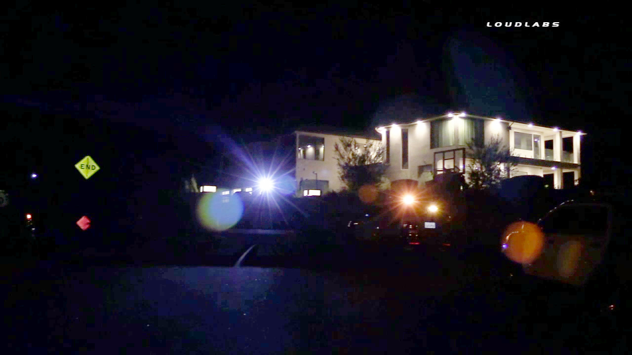 Armed suspects targeted singer Chris Brown's home in Tarzana on Wednesday, July 15, 2015.