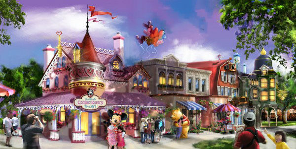 """<div class=""""meta image-caption""""><div class=""""origin-logo origin-image none""""><span>none</span></div><span class=""""caption-text"""">Mickey Avenue is the first main entry at Shanghai Disney and is where fans can meet Mickey Mouse and many other beloved Disney characters. (Disney Insider)</span></div>"""