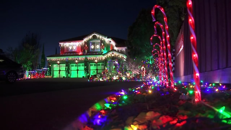 Best Christmas Decorations 2021 Bay Area List Best Drive By Holiday Light Displays Christmas Decorations In San Francisco Bay Area Abc7 San Francisco