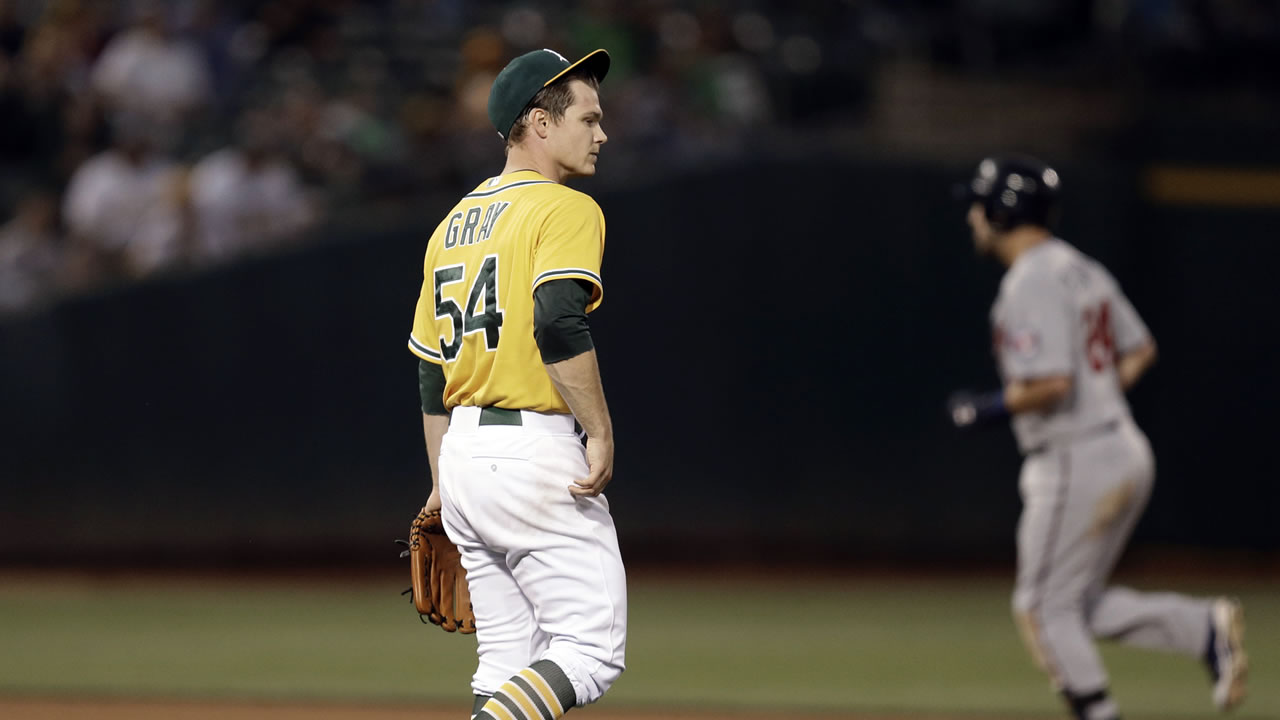 Oakland Athletics' Sonny Gray