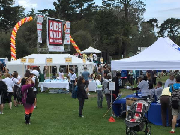 "<div class=""meta image-caption""><div class=""origin-logo origin-image none""><span>none</span></div><span class=""caption-text"">Volunteers and walkers are gearing up for AIDS Walk San Francisco in Golden Gate Park on Sunday, July 19, 2015. (KGO-TV)</span></div>"