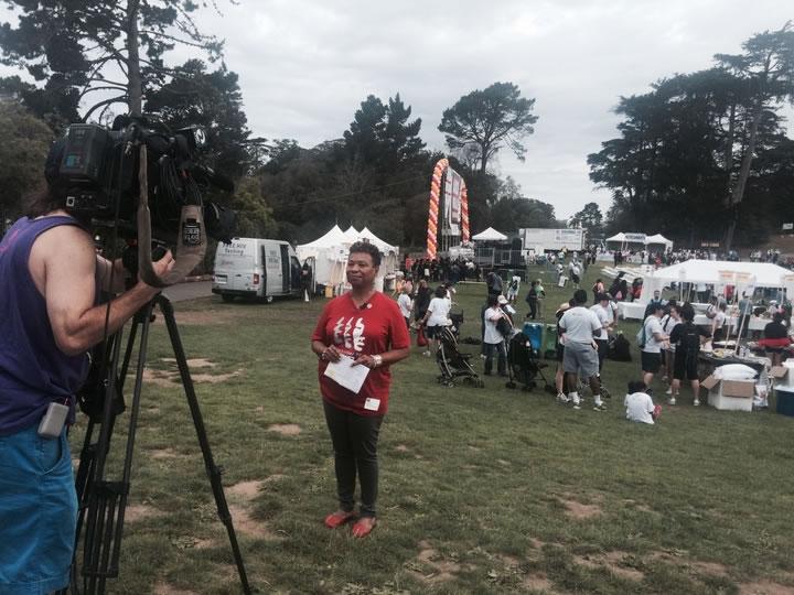 "<div class=""meta image-caption""><div class=""origin-logo origin-image none""><span>none</span></div><span class=""caption-text"">Congressman Barbara Lee is doing an interview at AIDS Walk San Francisco on Sunday, July 19, 2015. (KGO-TV)</span></div>"