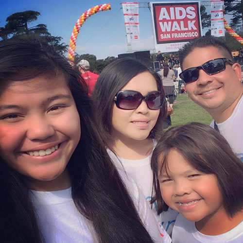 "<div class=""meta image-caption""><div class=""origin-logo origin-image none""><span>none</span></div><span class=""caption-text"">Lynn R says the AIDS Walk San Francisco on Sunday, July 19, 2015 was easy compared to the fight against AIDS. (Photo submitted to KGO-TV by Lynn R/Instagram)</span></div>"