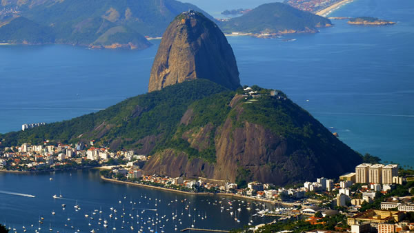 "<div class=""meta image-caption""><div class=""origin-logo origin-image ""><span></span></div><span class=""caption-text"">Sugarloaf Mountain: This beautiful 1,299-foot peak situated in Rio de Janeiro is at the mouth of Guanabara Bay on a peninsula that sticks out into the Atlantic Ocean. (caochopp/Flickr)</span></div>"