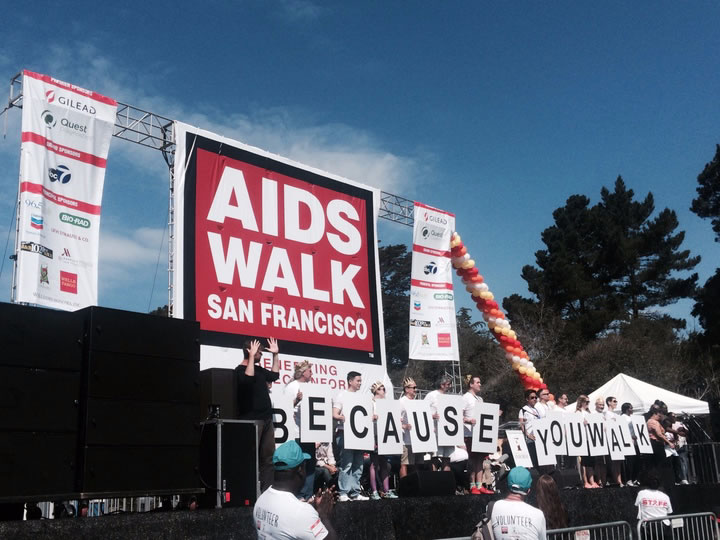 """<div class=""""meta image-caption""""><div class=""""origin-logo origin-image none""""><span>none</span></div><span class=""""caption-text"""">Thousands of people came out to AIDS Walk San Francisco in Golden Gate Park on Sunday, July 19, 2015. Tag your pics #abc7now. (KGO-TV)</span></div>"""