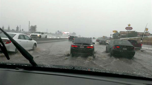 "<div class=""meta image-caption""><div class=""origin-logo origin-image none""><span>none</span></div><span class=""caption-text"">ABC7 viewer Celia sent in this photo of flooding on the 91 Freeway in Corona on Sunday, July 19, 2015. (KABC Photo)</span></div>"