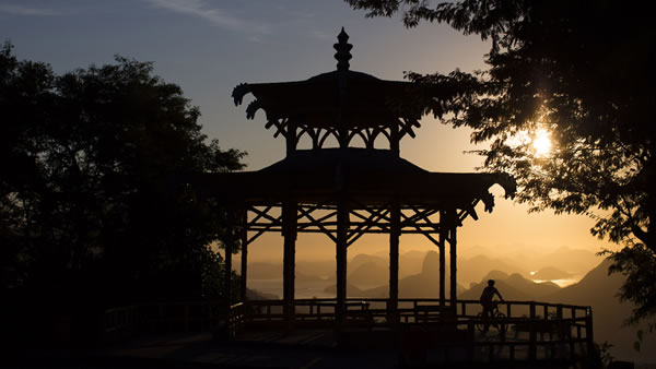 "<div class=""meta image-caption""><div class=""origin-logo origin-image ""><span></span></div><span class=""caption-text"">Vista Chinesa: This monument is located at about 1,246 feet high in the Tijuca Forest and is famous for its oriental style gazebo and spectacular views of Rio de Janeiro. (AP/Felipe Dana)</span></div>"