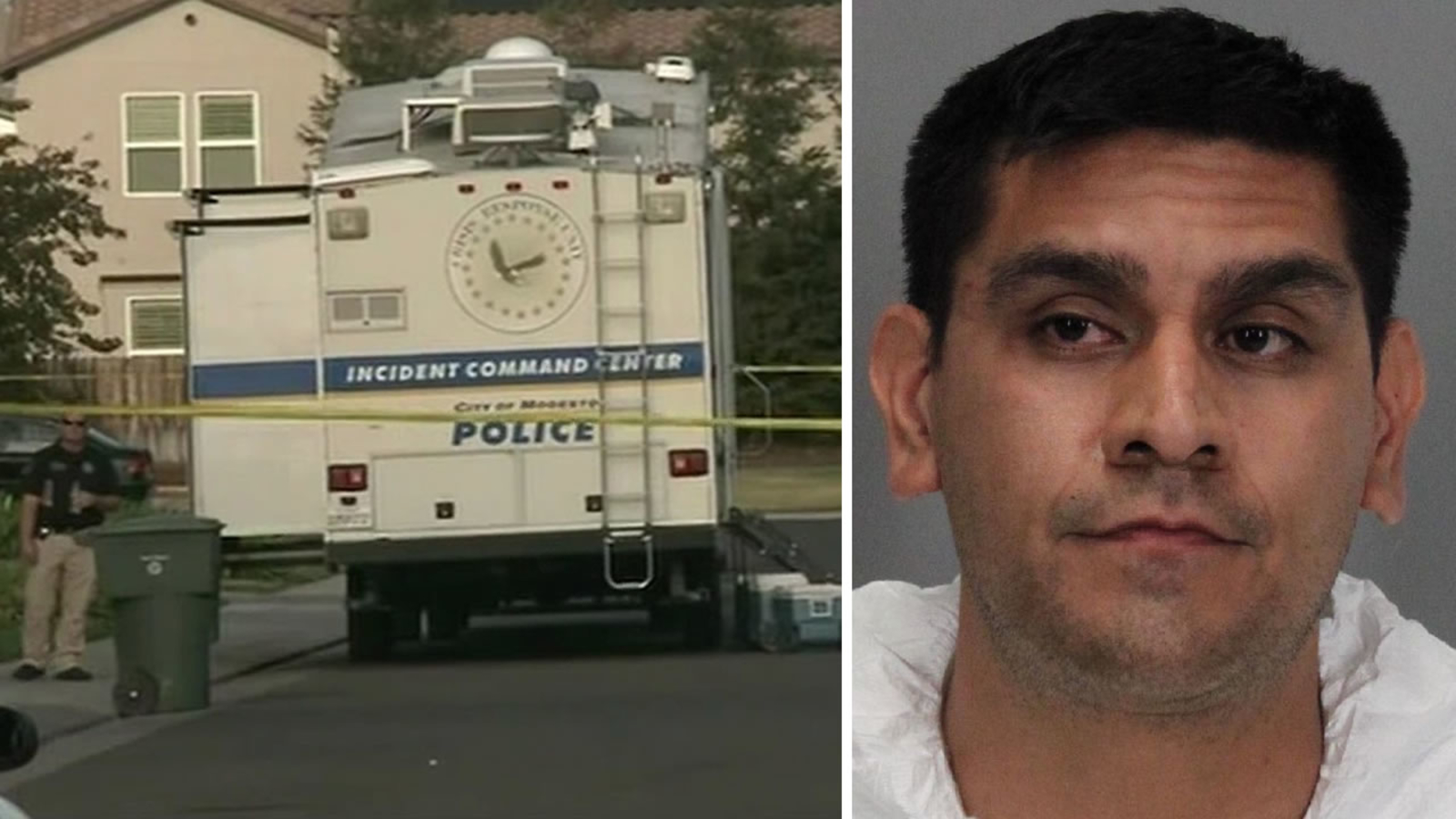 Police believe suspect in 5 Modesto homicides also killed 2-year-old