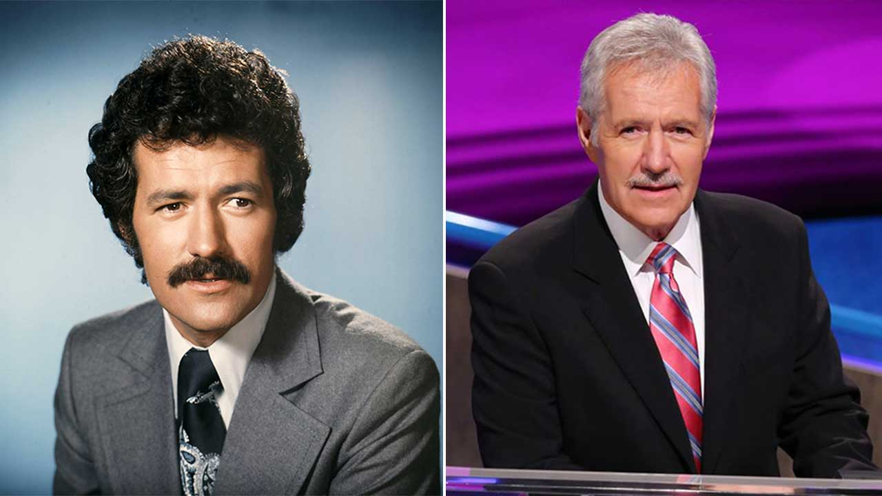 Alex Trebek through the years