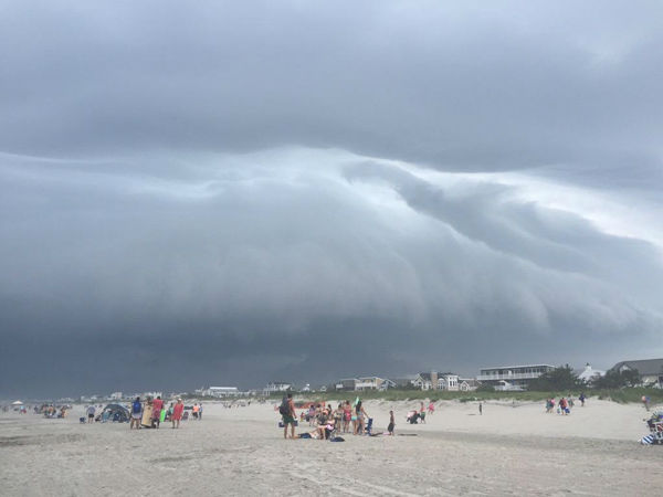"<div class=""meta image-caption""><div class=""origin-logo origin-image none""><span>none</span></div><span class=""caption-text"">kmurph on Twitter sent in this photo of storm clouds on the beach in Sea Isle City, NJ. (WPVI Photo)</span></div>"
