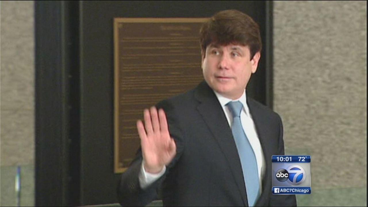 Blagojevich sentence, 5 convictions vacated