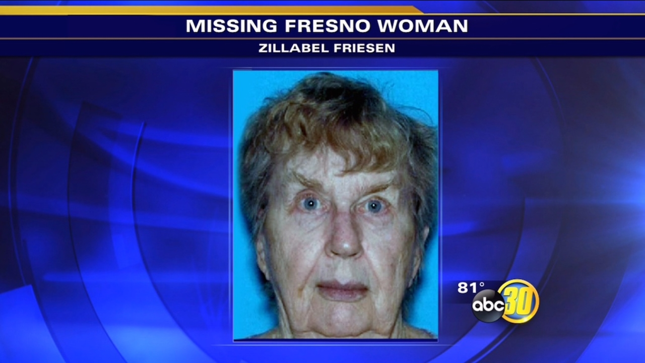 Zillabel Friesen, 81, of Fresno, is seen in this photo.