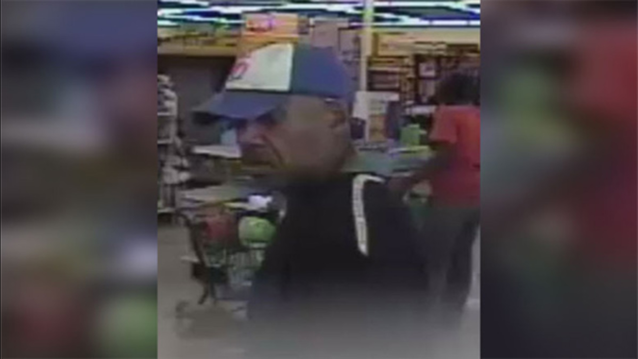 Police searching for Family Dollar thief in Northeast Philadelphia
