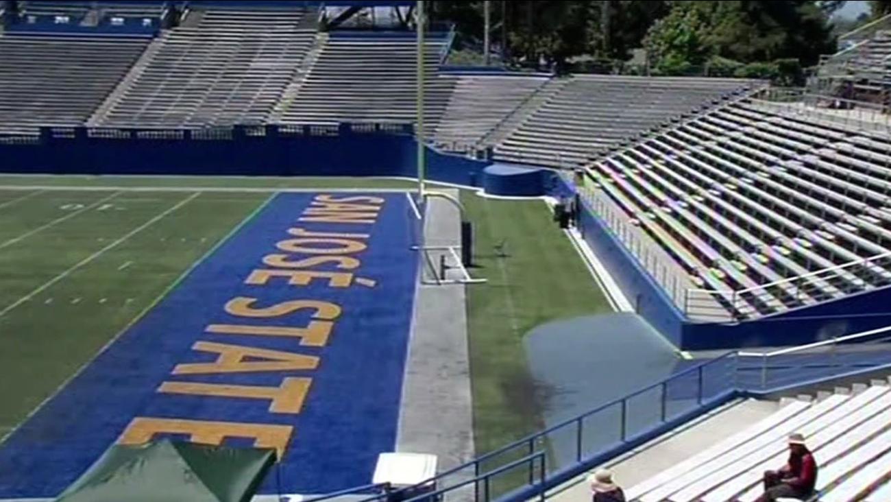 San Jose State University football field