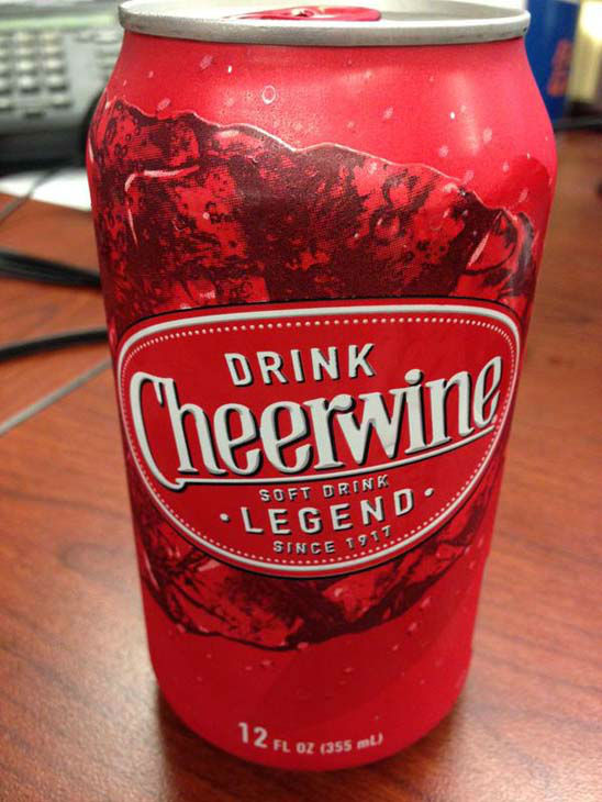 """<div class=""""meta image-caption""""><div class=""""origin-logo origin-image none""""><span>none</span></div><span class=""""caption-text"""">Cheerwine is how Tom Abrahams wakes up for the early show (KTRK Photo)</span></div>"""
