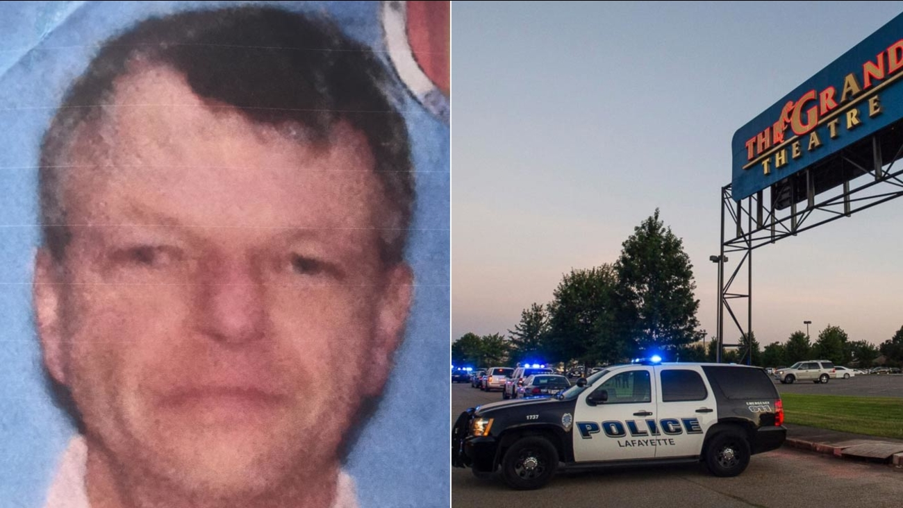 The suspected gunman who opened fire at a Louisiana movie theater was identified as 59-year-old John Russel Houser, described by police as a 'drifter.'