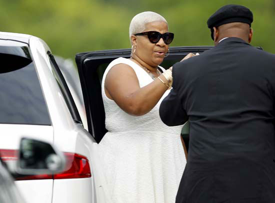 "<div class=""meta image-caption""><div class=""origin-logo origin-image none""><span>none</span></div><span class=""caption-text"">Sandra Bland's sister Shante Needham is escorted into the DuPage African Methodist Episcopal Church Saturday, July 25, 2015, in Lisle, Ill. (AP Photo/ Christian K. Lee)</span></div>"