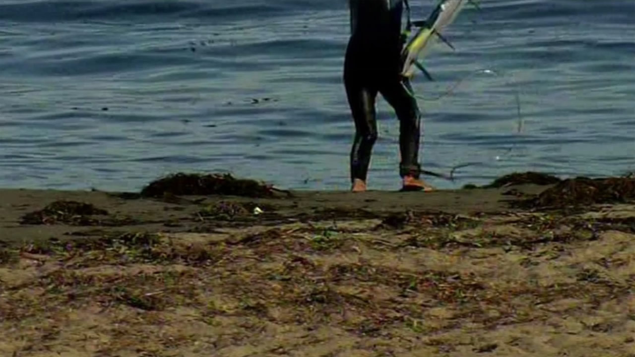 There's a warning out about Cowell Beach in Santa Cruz, ranked as one of the dirtiest on the West Coast because of unsafe levels of E. coli.