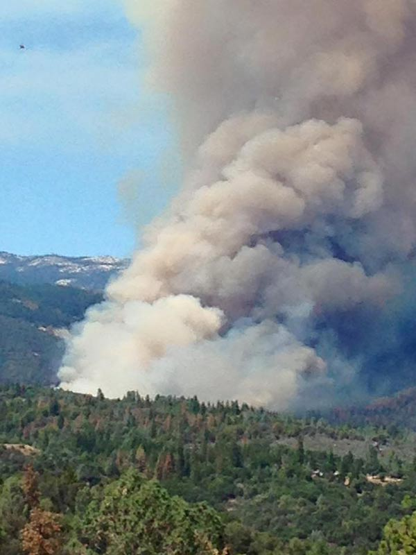"<div class=""meta image-caption""><div class=""origin-logo origin-image kfsn""><span>KFSN</span></div><span class=""caption-text"">A fire erupted southeast of Bass Lake on Saturday, July 25, 2015. (#abc30insider Shellie Back Amerjan)</span></div>"