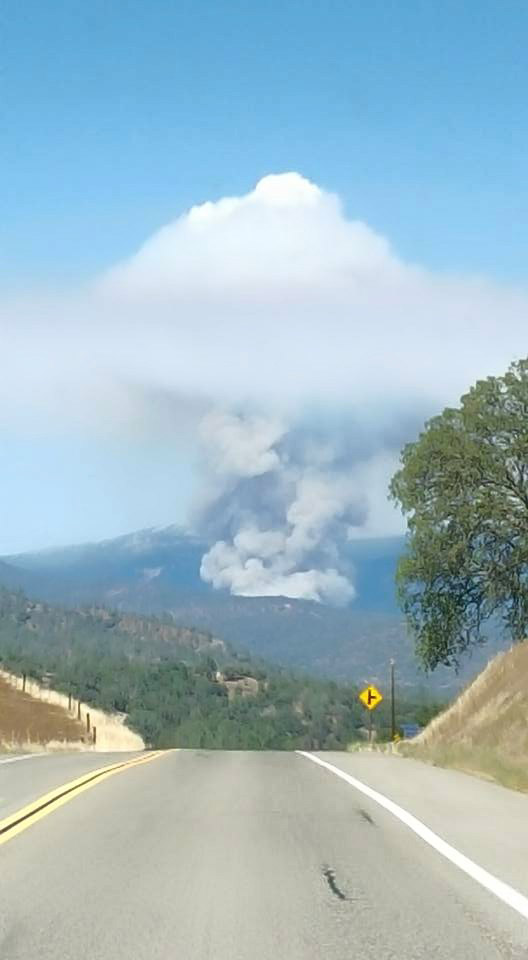 "<div class=""meta image-caption""><div class=""origin-logo origin-image kfsn""><span>KFSN</span></div><span class=""caption-text"">A fire erupted southeast of Bass Lake on Saturday, July 25, 2015. (#abc30insider Brandon C. Phillips)</span></div>"