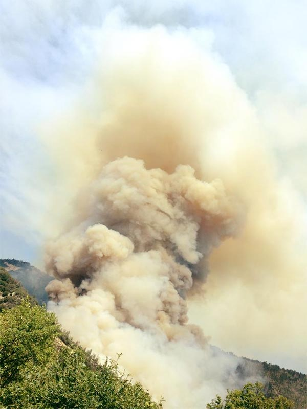 "<div class=""meta image-caption""><div class=""origin-logo origin-image kfsn""><span>KFSN</span></div><span class=""caption-text"">A fire erupted southeast of Bass Lake on Saturday, July 25, 2015. (#abc30insider Mary Chepo)</span></div>"