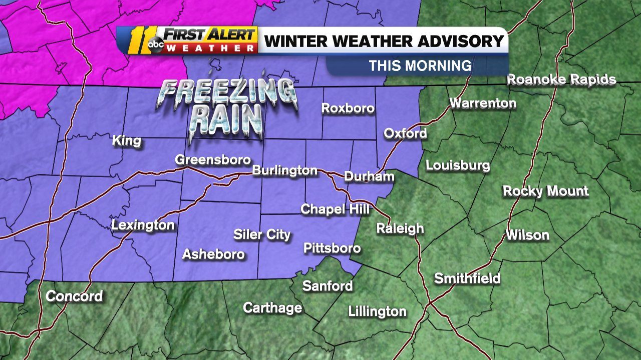 Winter Storm Nc Weather Could Include Freezing Rain Wednesday Morning Abc11 Raleigh Durham My weather profile weather shortcuts weather topics |. winter storm nc weather could include