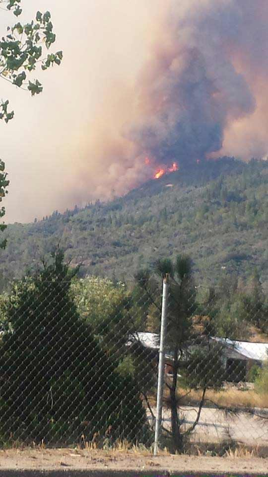 "<div class=""meta image-caption""><div class=""origin-logo origin-image kfsn""><span>KFSN</span></div><span class=""caption-text"">A fire erupted southeast of Bass Lake on Saturday, July 25, 2015. (#abc30insider Carla Holland-Shuster)</span></div>"