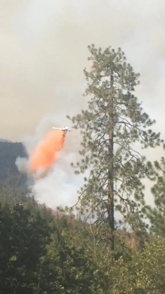 "<div class=""meta image-caption""><div class=""origin-logo origin-image kfsn""><span>KFSN</span></div><span class=""caption-text"">A fire erupted southeast of Bass Lake on Saturday, July 25, 2015. (#abc30insider Rhea Arbogast)</span></div>"