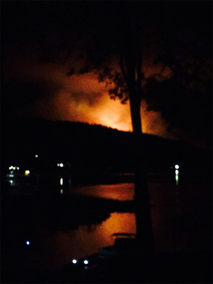"<div class=""meta image-caption""><div class=""origin-logo origin-image kfsn""><span>KFSN</span></div><span class=""caption-text"">A fire erupted southeast of Bass Lake on Saturday, July 25, 2015. (#abc30insider Stacy Hollenbeck)</span></div>"