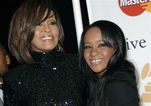 "<div class=""meta image-caption""><div class=""origin-logo origin-image none""><span>none</span></div><span class=""caption-text"">Singer Whitney Houston, left, and daughter Bobbi Kristina Brown arrive at an event in Beverly Hills, Calif. (AP Photo/ Dan Steinberg)</span></div>"