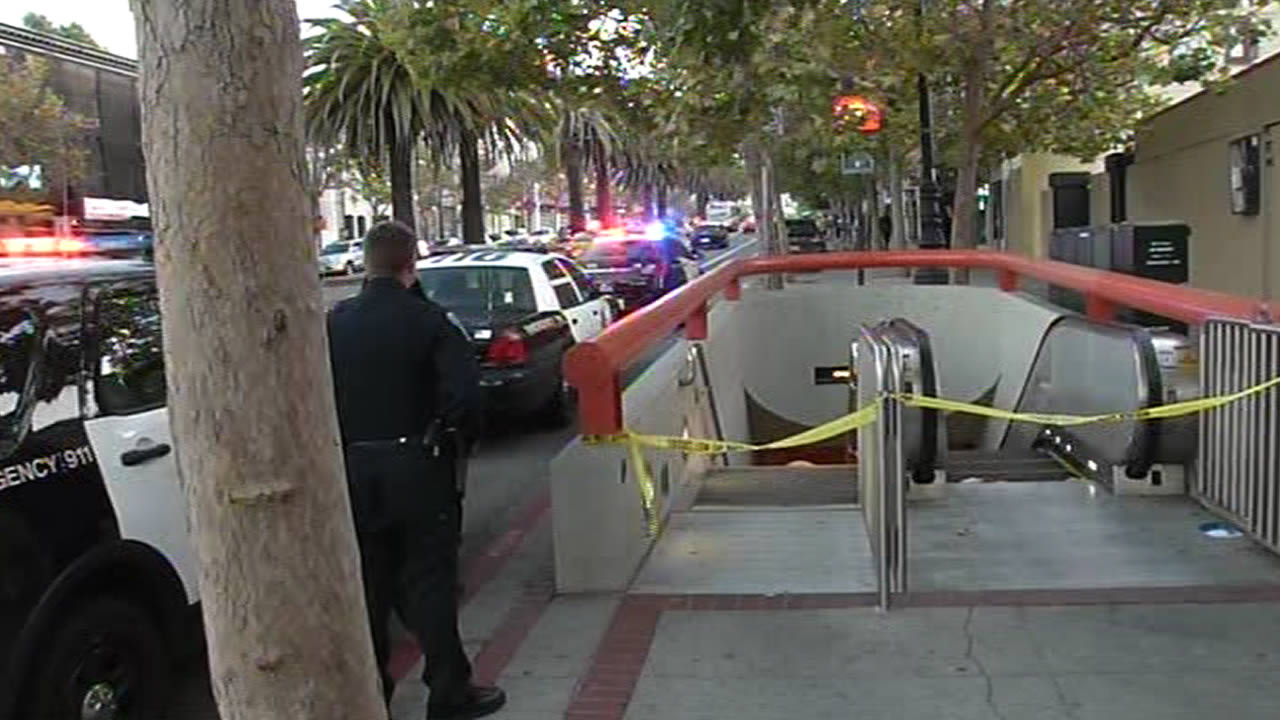 The discovery of a suspicious briefcase prompted the closure of San Francisco's Church Street Muni station on Sunday, July 26, 2015.