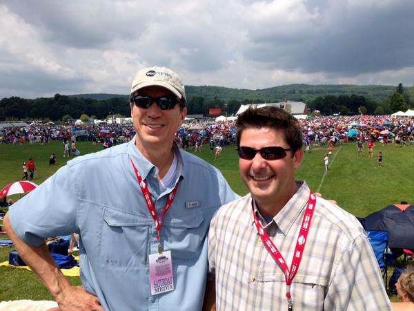 """<div class=""""meta image-caption""""><div class=""""origin-logo origin-image none""""><span>none</span></div><span class=""""caption-text"""">Photgraphers Jaime and Wes in Cooperstown (KTRK Photo)</span></div>"""