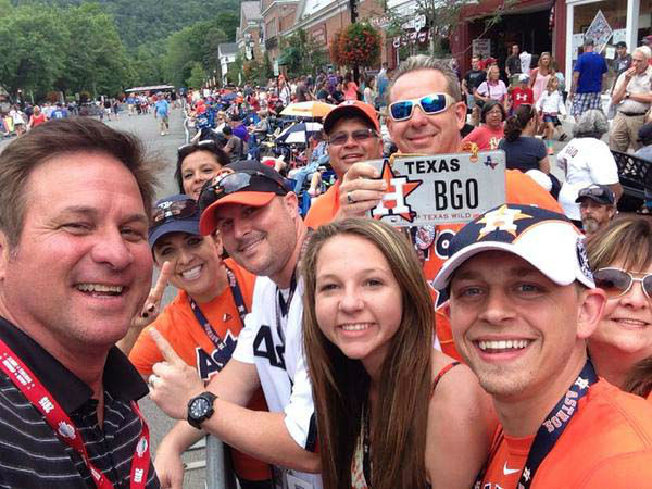 """<div class=""""meta image-caption""""><div class=""""origin-logo origin-image none""""><span>none</span></div><span class=""""caption-text"""">Bob Slovak with some Astros fans in Cooperstown (KTRK Photo)</span></div>"""