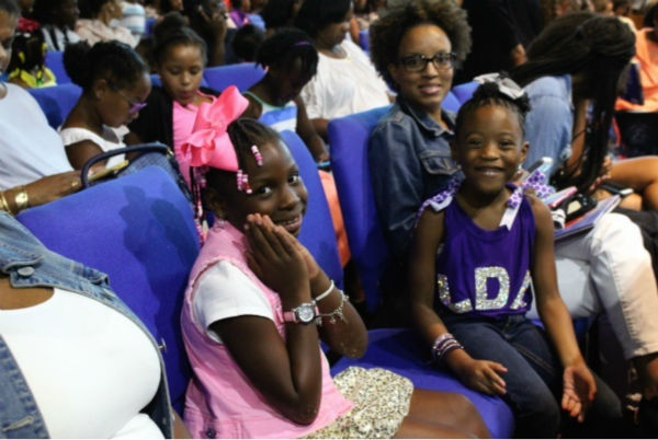 "<div class=""meta image-caption""><div class=""origin-logo origin-image none""><span>none</span></div><span class=""caption-text"">Dozens of young girls packed the Kingdom Buildings Center in South Houston to see the first black Principal Dancer in the American Ballet Theater.</span></div>"