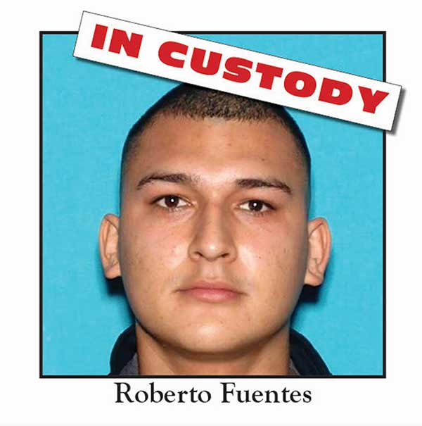 Roberto Fuentes, 19, is seen in this photo provided by the Los Angeles County Sheriff's Department.