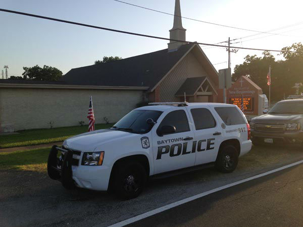 "<div class=""meta image-caption""><div class=""origin-logo origin-image none""><span>none</span></div><span class=""caption-text"">Baytown police responded to a shooting at the Church of New Beginnings. Police say the pastor armed himself and shot an intruder. (KTRK Photo)</span></div>"