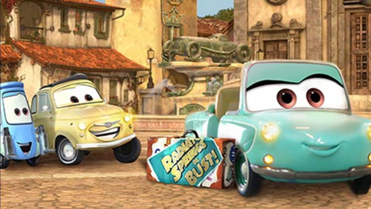 Disney's California Adventure is getting a new ride: Luigi's Rollickin' Roadsters.