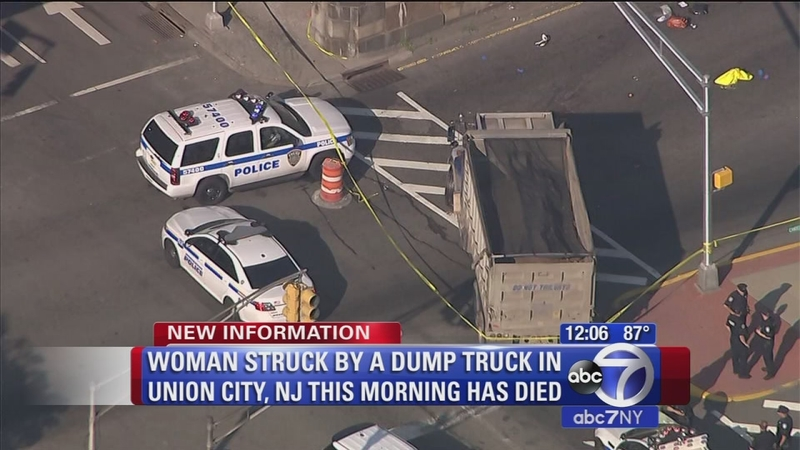 Woman fatally struck by truck in Union City