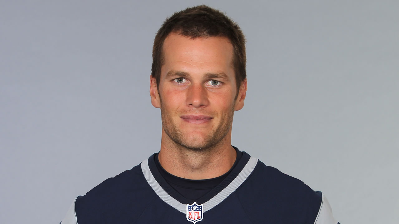 This is a photo of Tom Brady of the New England Patriots NFL football team. This image reflects the New England Patriots active roster as of Friday, June 19, 2015.