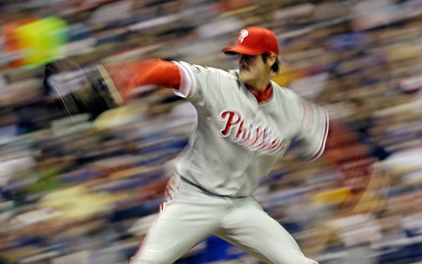 <div class='meta'><div class='origin-logo' data-origin='none'></div><span class='caption-text' data-credit='Photo/Morry Gash'>Cole Hamels throws during the fourth inning of a baseball game against Milwaukee Brewers Sunday, May 16, 2010, in Milwaukee.</span></div>