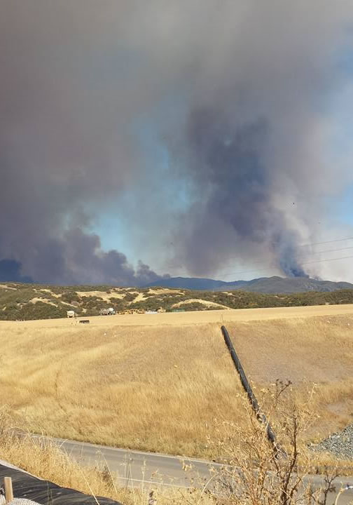 "<div class=""meta image-caption""><div class=""origin-logo origin-image none""><span>none</span></div><span class=""caption-text"">This is a photo of the smoke taken on Wednesday, July 29, 2015 of the wildfire burning in Lake County, Calif. (Gloria Cornett/Facebook)</span></div>"