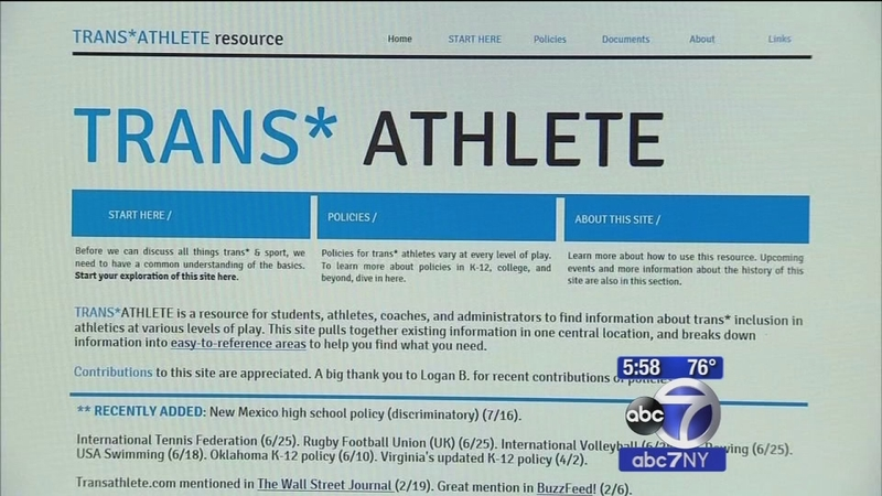 New York approves guidelines for transgender high school student athletes