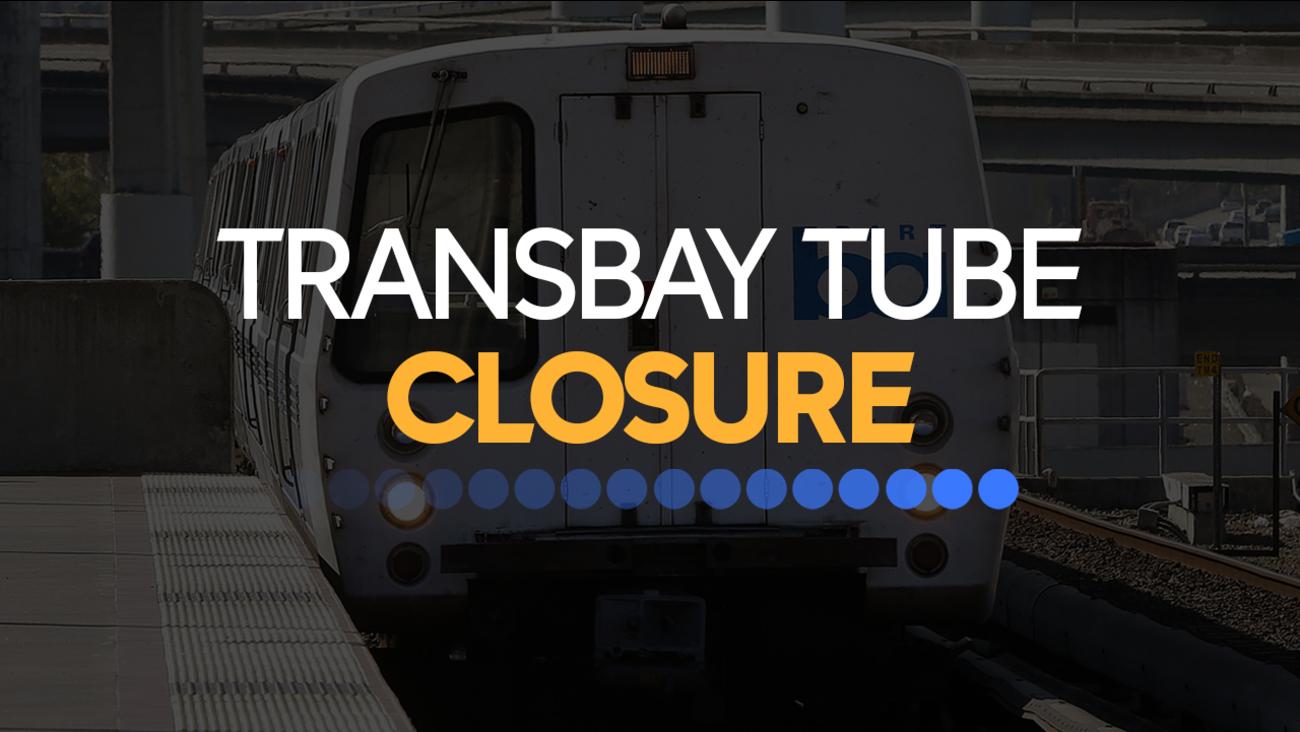 BART Transbay Tube closure