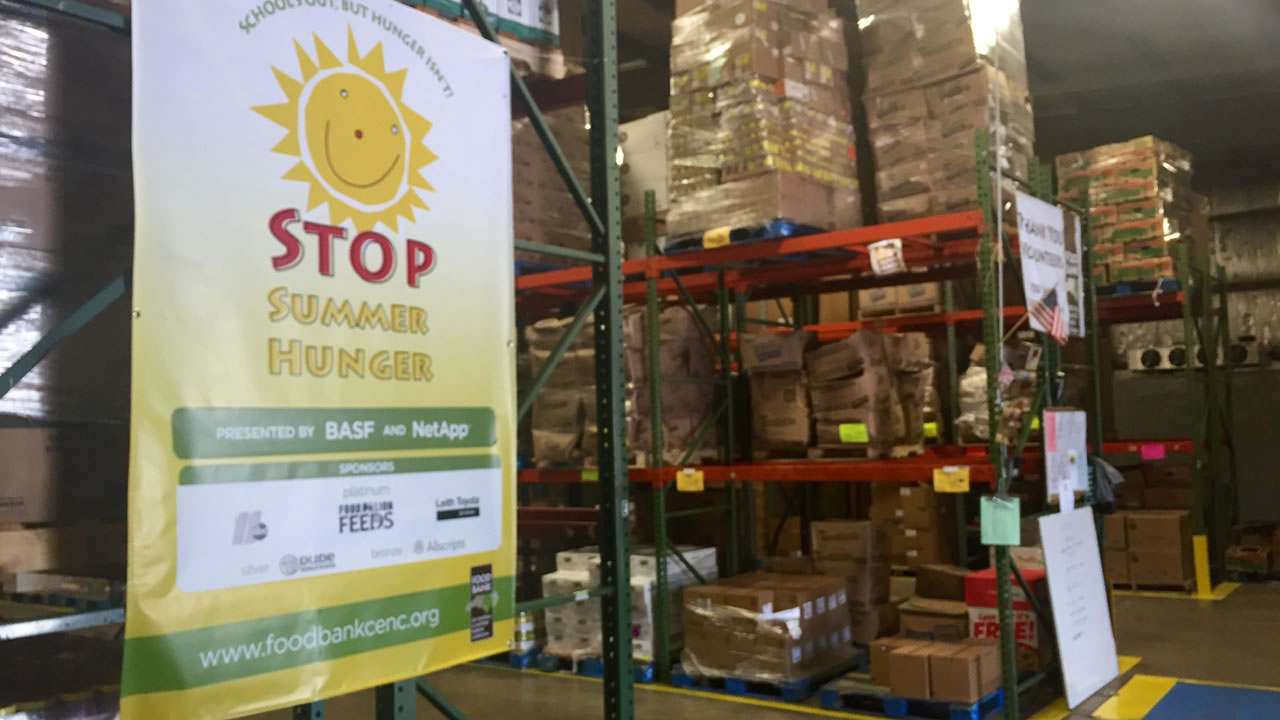 The Food Bank of Central and Eastern North Carolina.