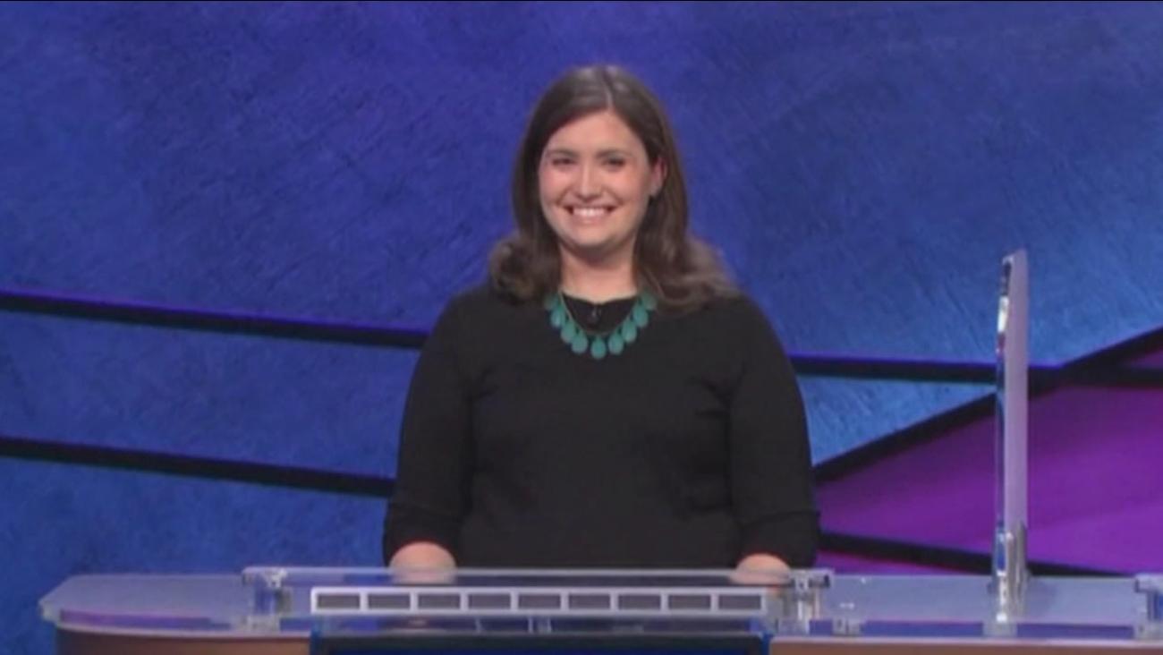 Jeopardy champ Julia Collins