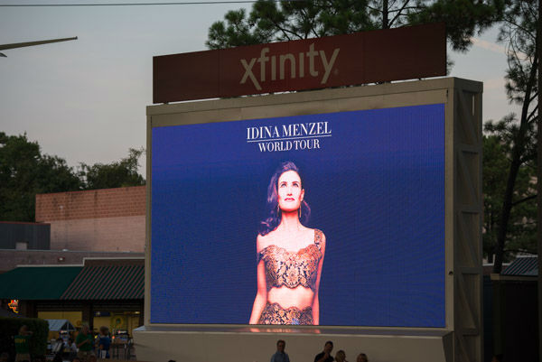 "<div class=""meta image-caption""><div class=""origin-logo origin-image none""><span>none</span></div><span class=""caption-text"">It was a packed house for Idina Menzel At Cynthia Woods Mitchell Pavilion Friday night (Photo/David Mackey)</span></div>"